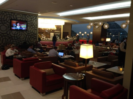 Trip Report Emirates Business Class Lounge Concourse A Dubai A380 Terminal11