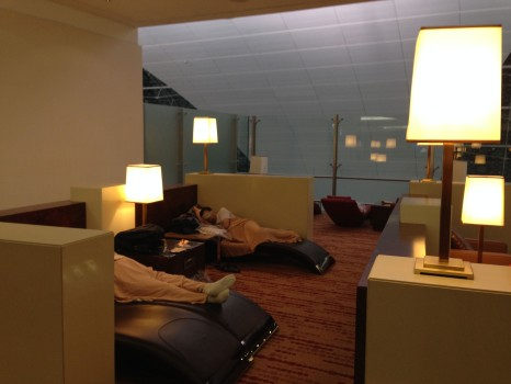 Trip Report Emirates Business Class Lounge Concourse A Dubai A380 Terminal39