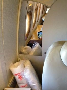 Emirates First Class 777 MXP-JFK42
