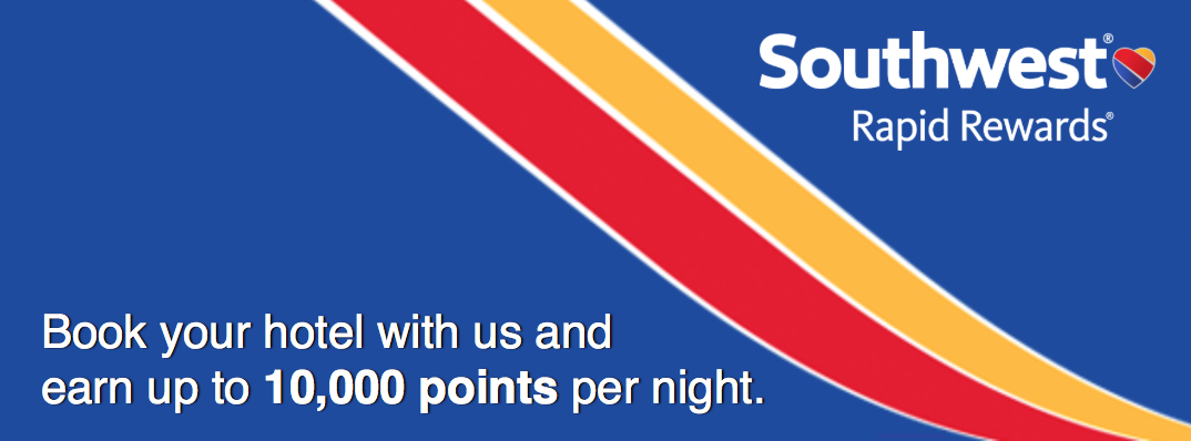 Earn Up To 10 000 Southwest Points Per Hotel Night Point Me The Plane