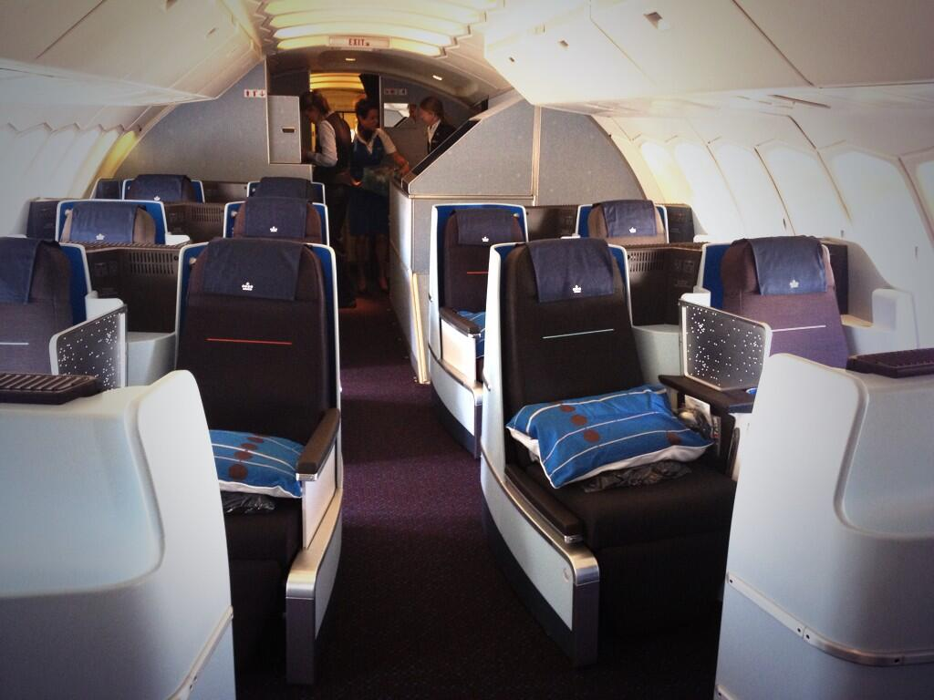 Klm S Brand New World Business Class On The Us Ams Routes