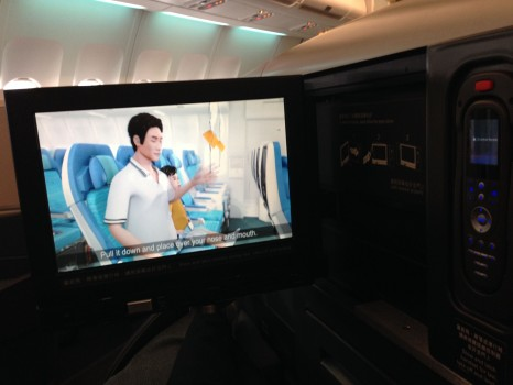 Cathay Pacific Trip Report Hong Kong (HKG) to Bangkok (BKK) A34014