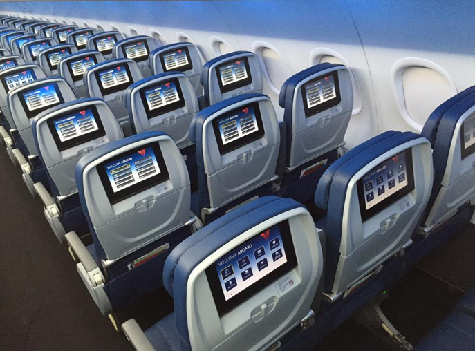Delta Debuts Pics of Updated A319 Interiors – First Airline w/ the Airbus Interior Mods