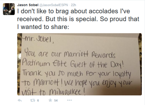 Platinum Elite is Marriott's highest level.