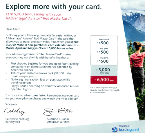 Barclays AA Offer