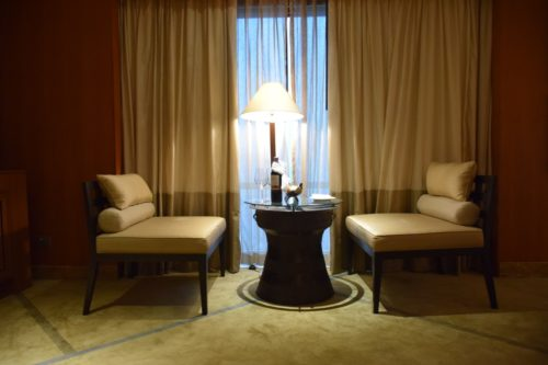 Conrad Bangkok Executive Twin Corner Room - Seating