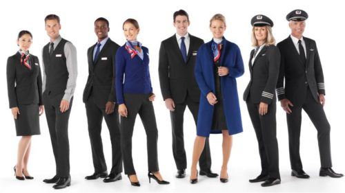 American Airlines New Uniform
