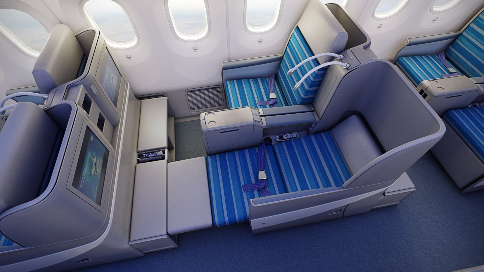 LOT Business Class around the world ticket ANA