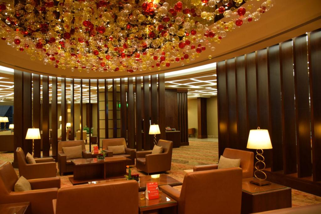 Emirates First Class Lounge Dubai Concourse A - Seating