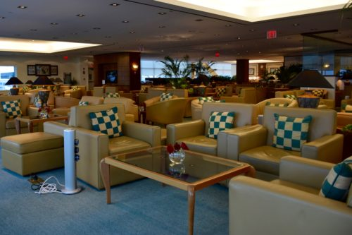 The Emirates Lounge JFK Seating
