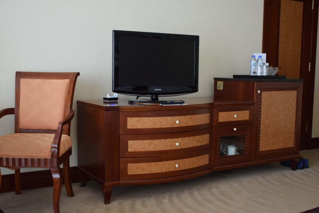 Grand Hyatt Dubai Grand King Room - TV Stand