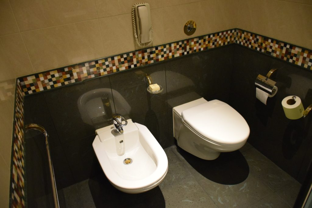 Grand Hyatt Dubai Grand King Room - Toilet and Bidet
