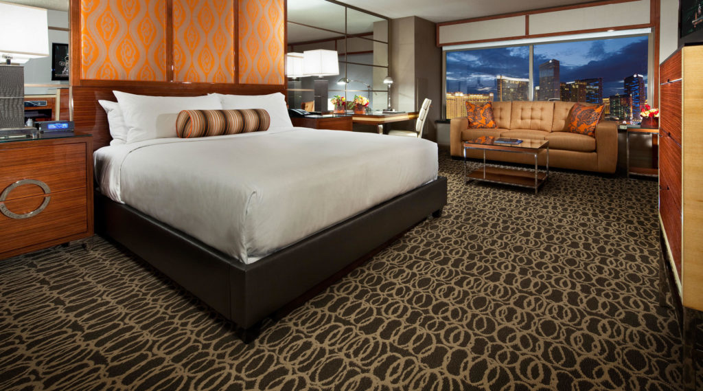 The MGM Grand in Las Vegas is a Hyatt Category Four hotel; just holding the Hyatt credit card earns a free night here.