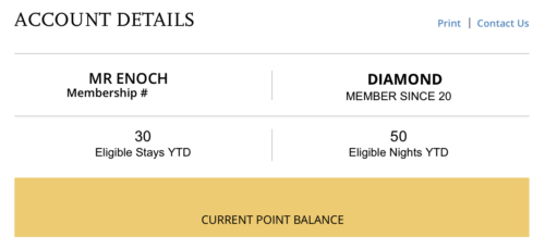 It will take 60 nights per year to qualify for top tier Hyatt status