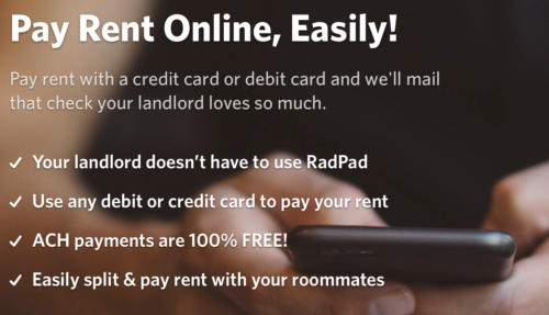 RadPad is ending rent payments and processing as of October 13