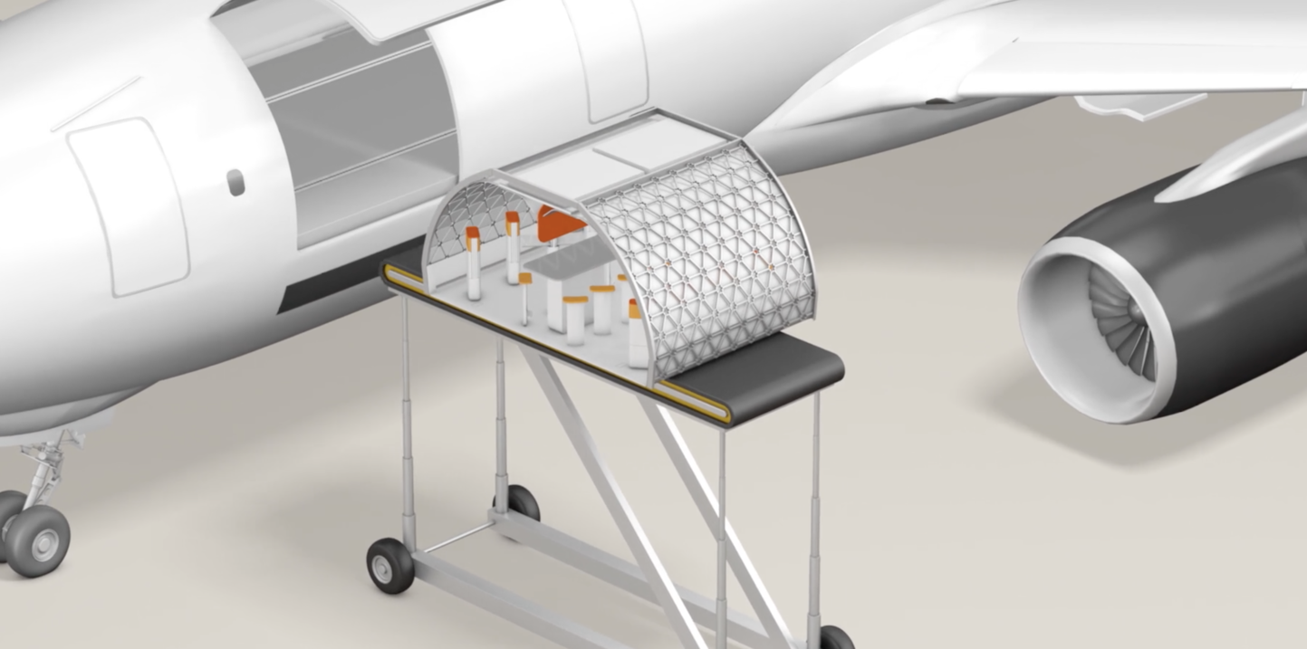 Rendering of Transpose. Source: A³ by Airbus Group