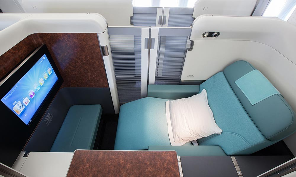 Korean Air First Class Delta SkyMiles award
