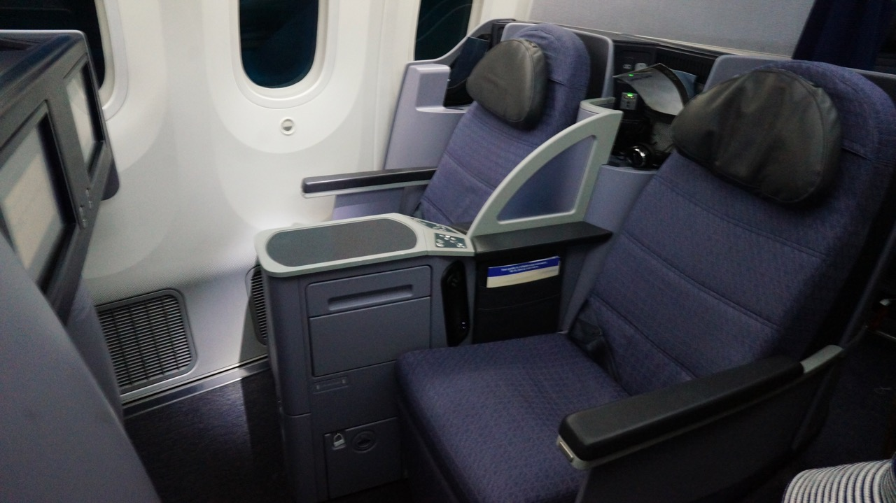 choosing the best business class seats on united s 787 dreamliner