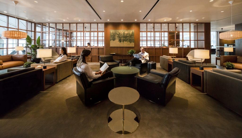 Cathay Pacific's new lounge, The Deck, will open March 22, 2018, replacing the old G16 lounge operated by Cathay Dragon. Source: Cathay Pacific
