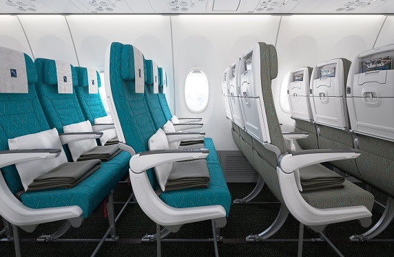 SilkAir Economy Class. Source: SIA