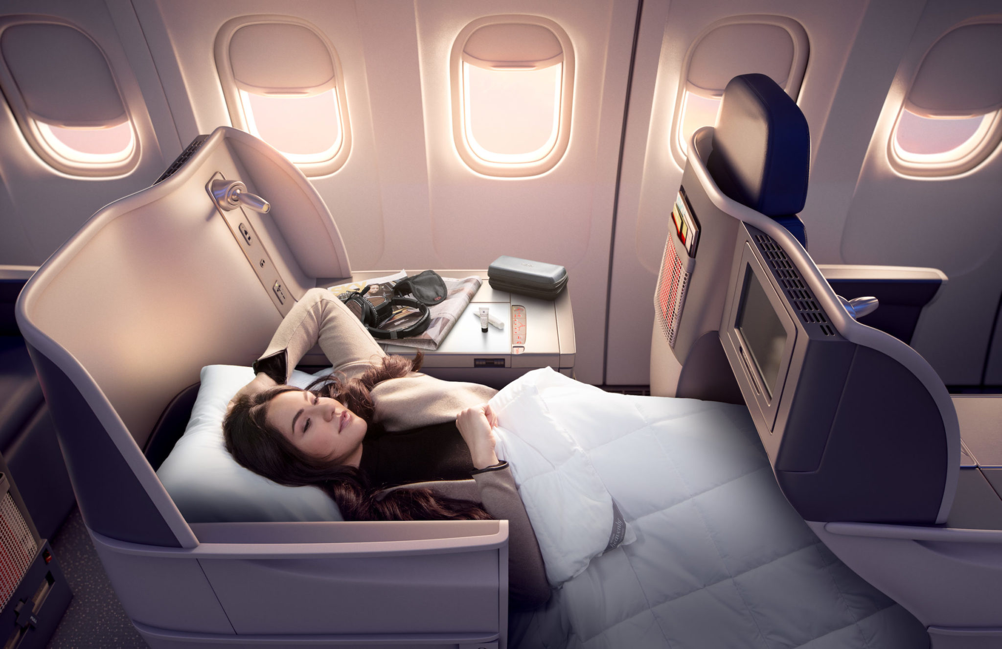 Delta One Boeing 767 Business Class Is