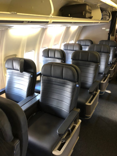 United Airlines Reconfigured Boeing 757-300