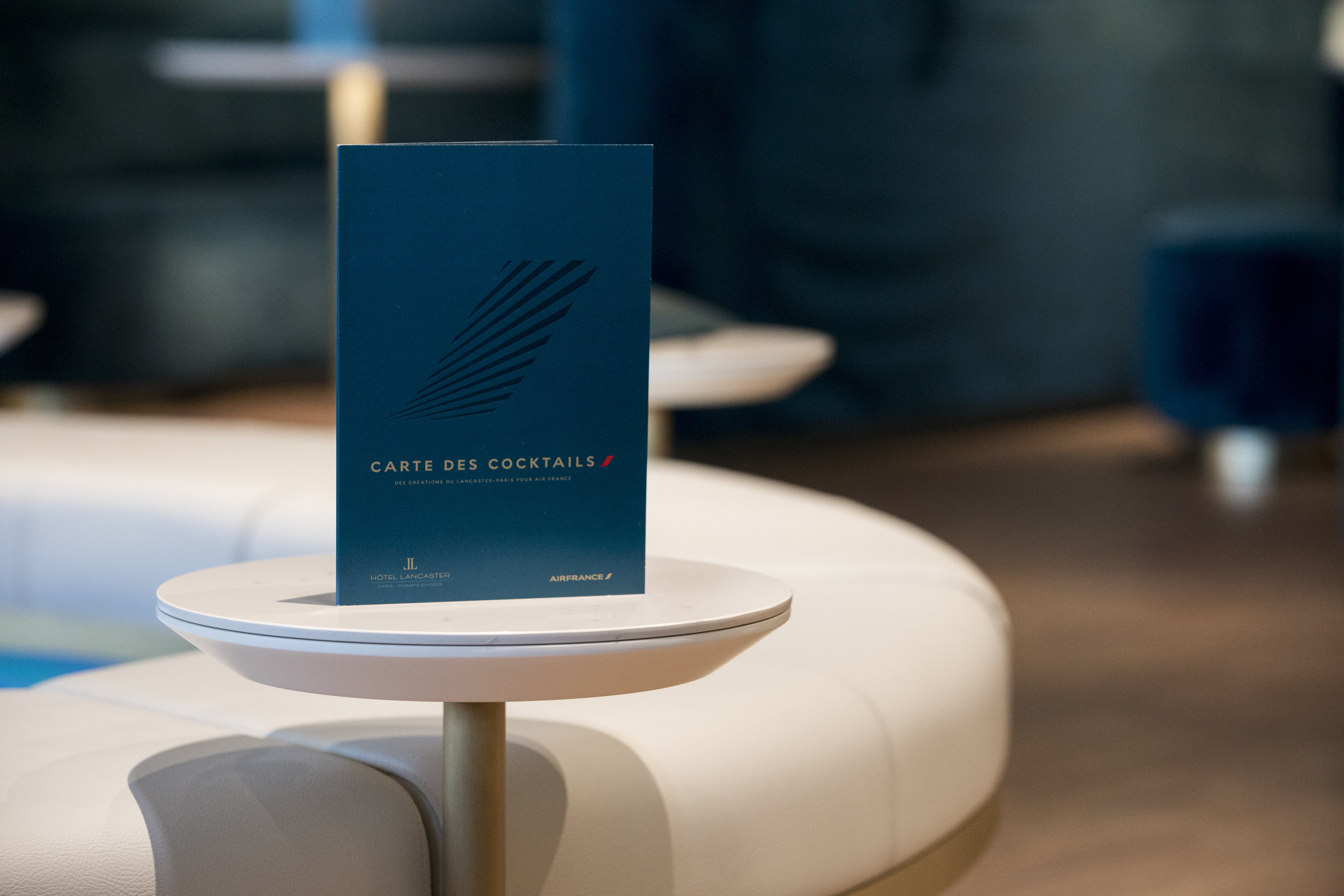 """Fabulously French – Air France Business Lounge, """"Le Balcon"""""""