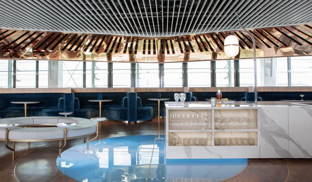 """Le Balcon"" Air France New Lounge CDG"