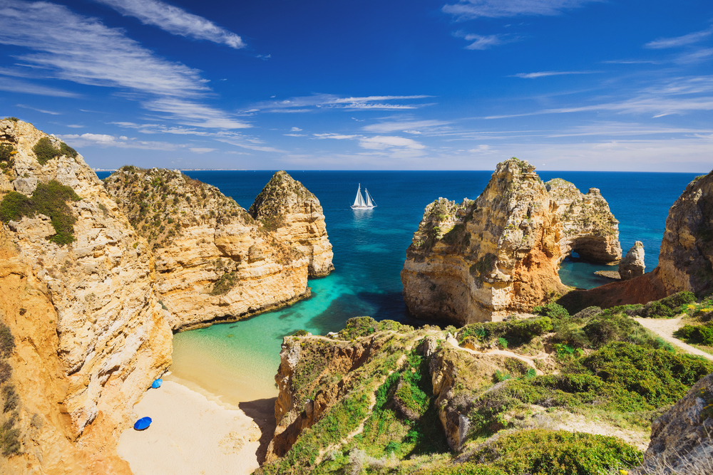 The Algarve is a great addition to a Portugal itinerary, ideal for relaxing after the bustle of Lisbon.