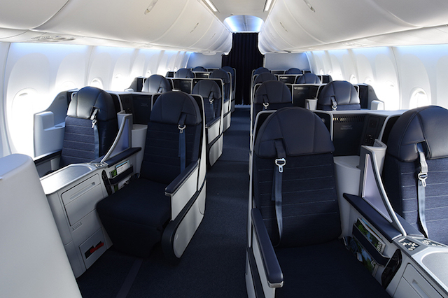 Boeing 737 MAX 9 lie-flat business class Copa Airlines