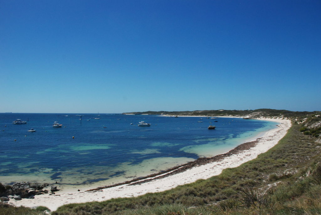 Both Perth, Australia and its day-trip destination Rottnest Island have excellent beaches.