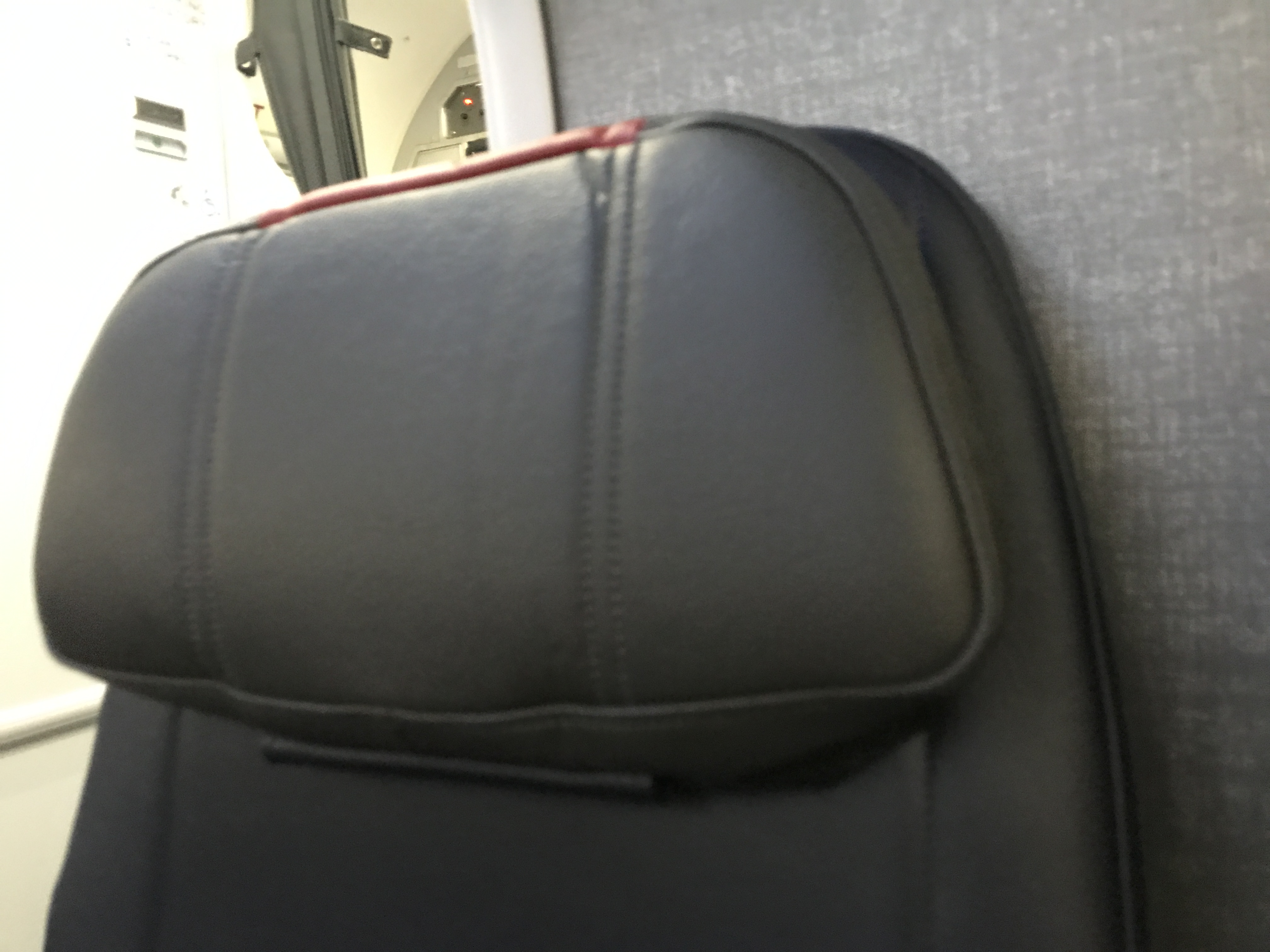 Headrests that actually support your head. Groundbreaking. Image by Chris Dong