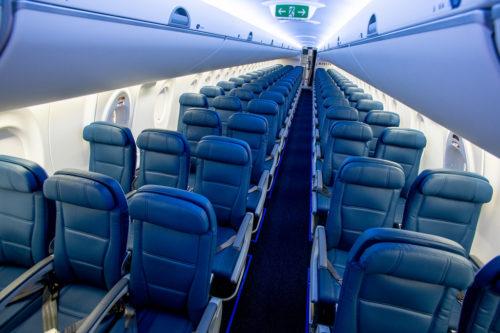 Delta versus American Airlines economy seat comfort