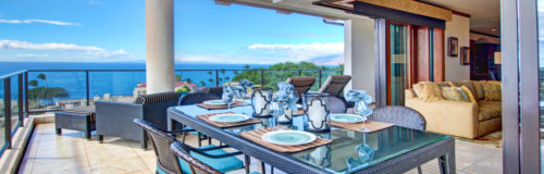 DR_Hawaii_Wailea Beach Villas_Interior_Lanai_Dining_View CRPD1440x460