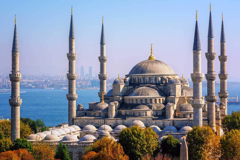 Istanbul's skyline is just one curious juxtaposition of ancient and modern, east and west. Travel to Turkey...