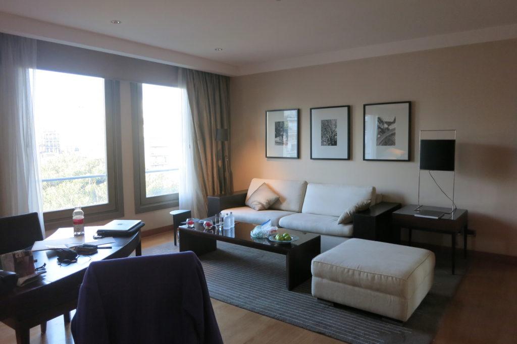 Park Hyatt Buenos Aires Argentina Living room and desk area