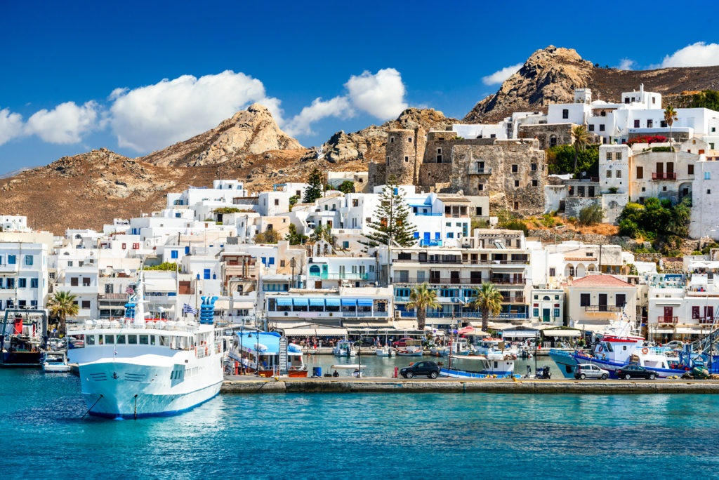 Ferries are the best way to get around to the many Greek islands when you visit Greece.