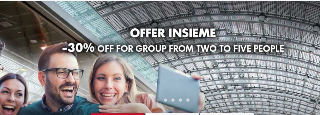 Current Trenitalia Promotion