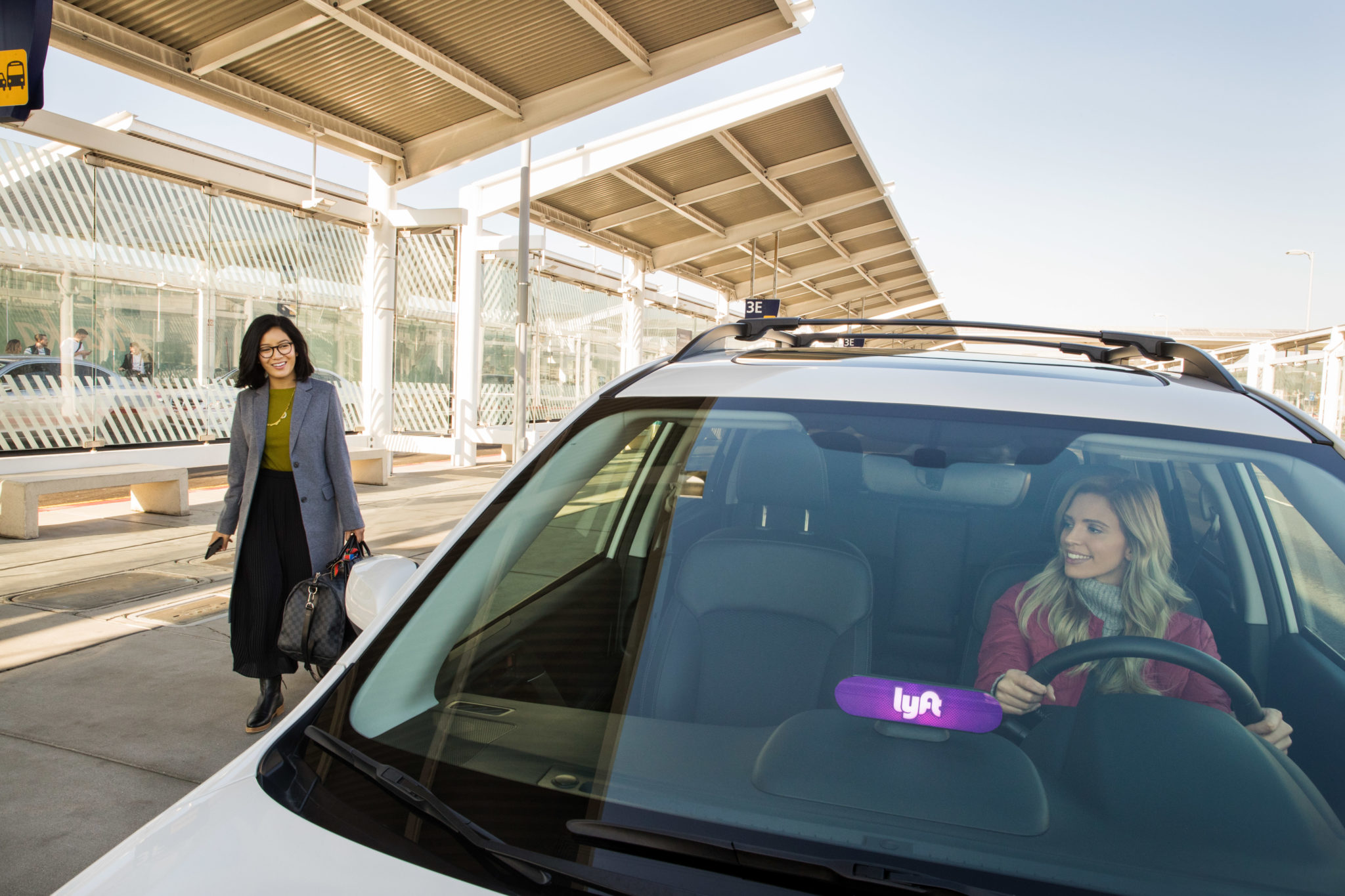Lyft Makes Pick Ups Easier At LaGuardia Airport