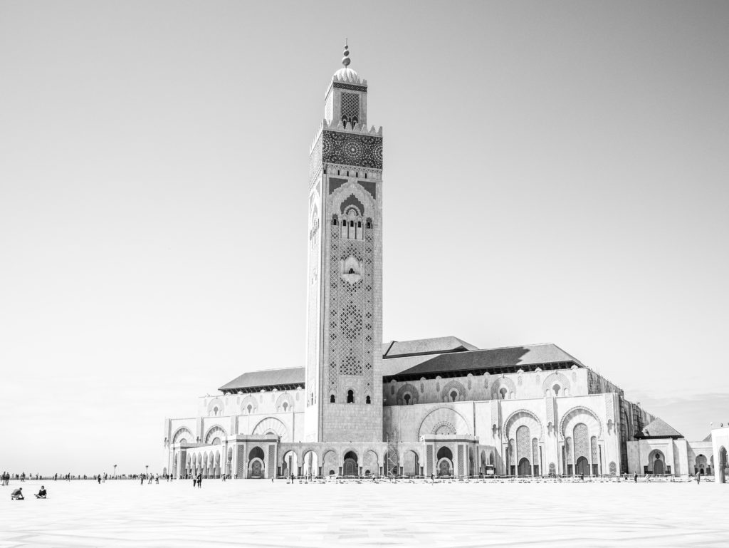 The Hassan II Mosque in Casablanca, Morocco doran-erickson-4DSOrTFm9fw-unsplash