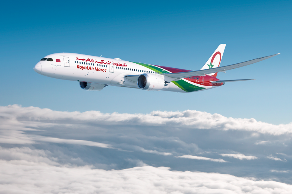 Royal Air Maroc operates a modern fleet of over 50 aircraft primarily from Boeing