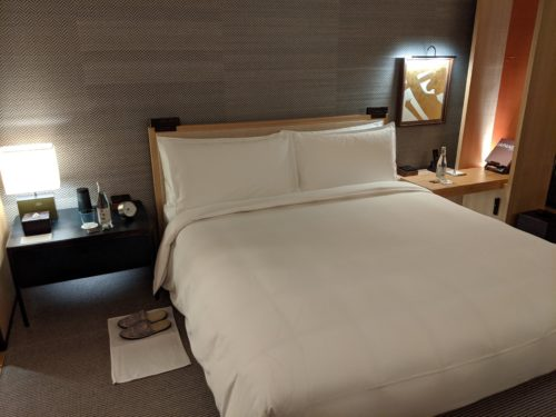 New Park Hyatt Kyoto Bed