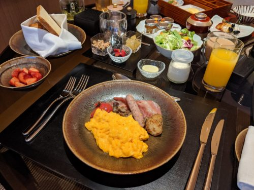 New Park Hyatt Kyoto Breakfast