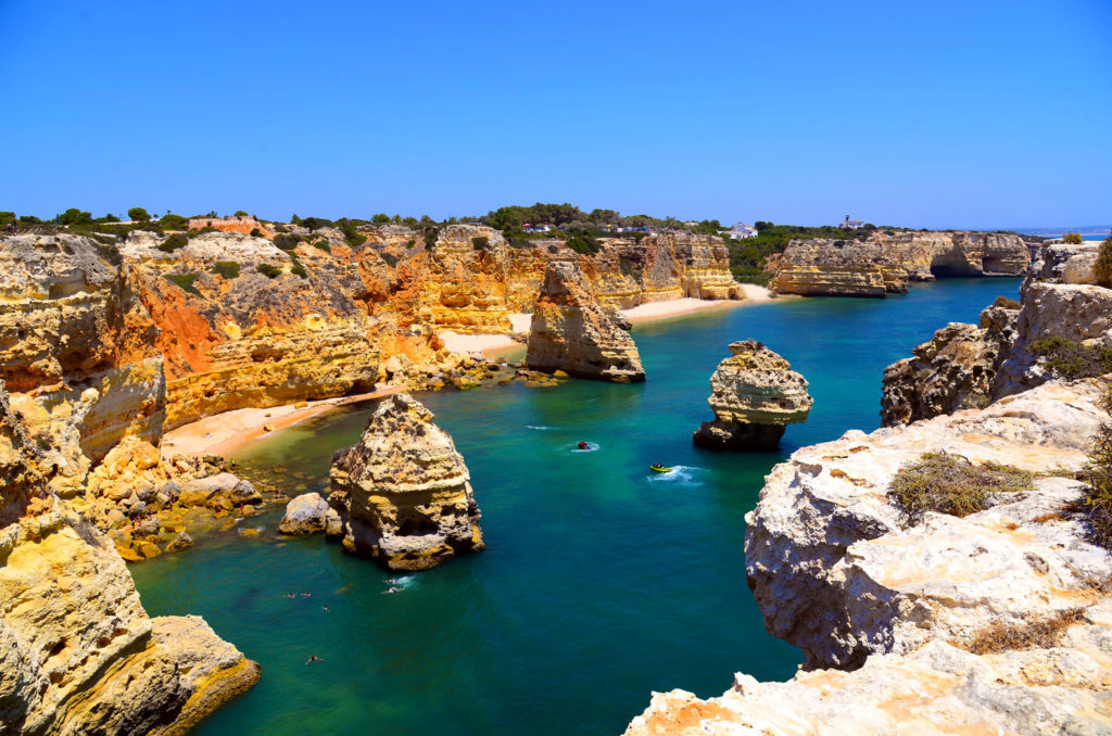 Europe Coronavirus Travel Restrictions Algarve Coast Portugal